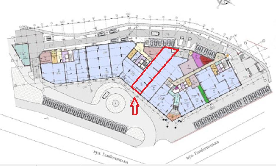 Аренда торговой площади в ЖК Podil Plaza & Residence