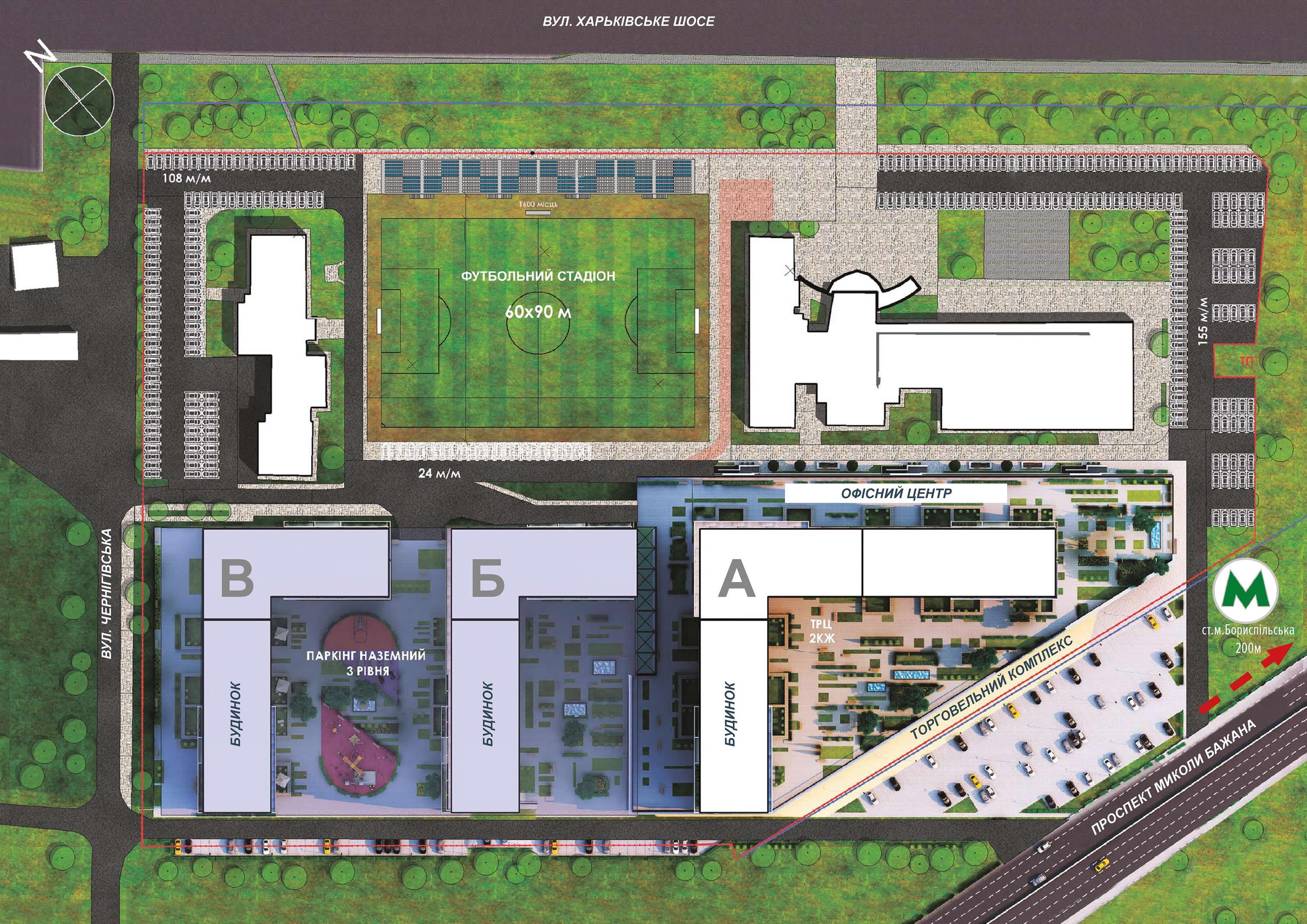 Аренда торговой площади в ЖК Olympic Park